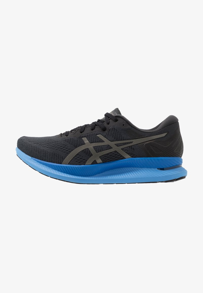 ASICS - GLIDERIDE - Neutral running shoes - black/gunmetal