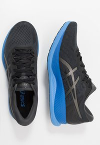 ASICS - GLIDERIDE - Neutral running shoes - black/gunmetal - 1