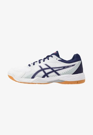 GEL-TASK 2 - Volleyball shoes - white/astral aura/mid grey