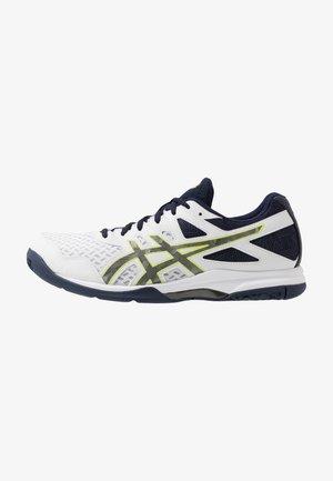 GEL-TASK 2 - Handball shoes - white/gunmetal
