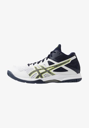 GEL-TASK 2 MT - Handball shoes - white/gunmetal