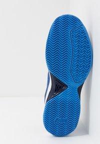 ASICS - GEL-DEDICATE 6 CLAY - Tenisové boty na antuku - blue/white - 4