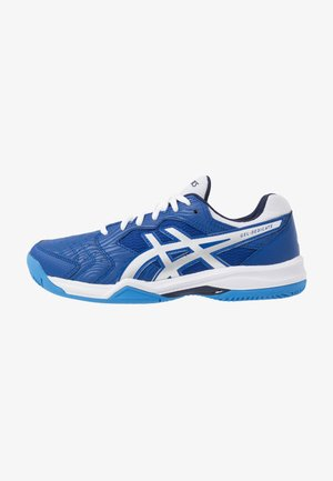 GEL-DEDICATE 6 CLAY - Clay court tennis shoes - blue/white