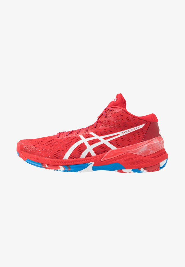 SKY ELITE FF - Handball shoes - classic red/white