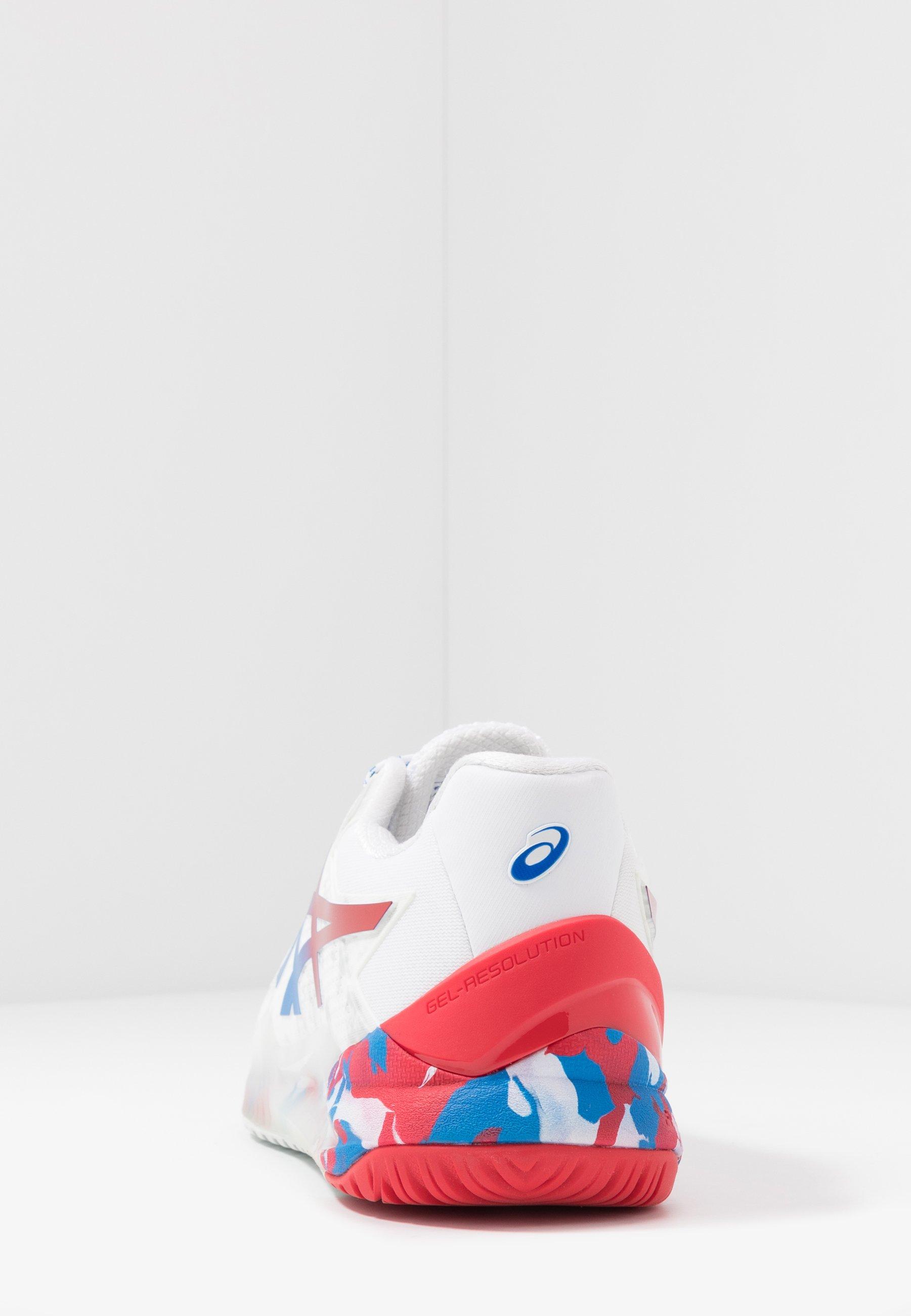 GEL RESOLUTION 8 Multicourt Tennisschuh whiteelectric blue
