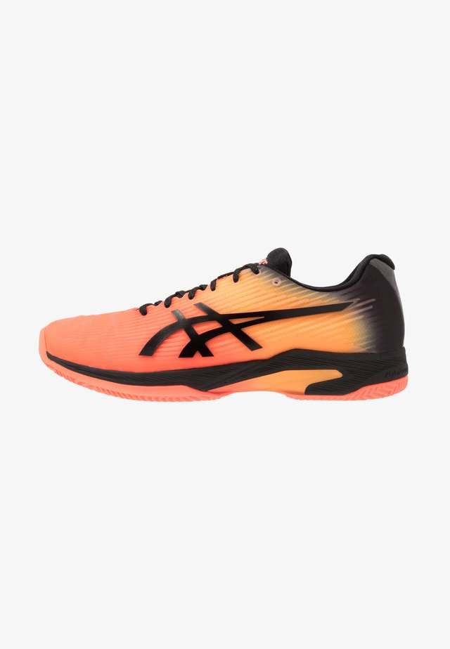 SOLUTION SPEED FF CLAY - Zapatillas de tenis para tierra batida - flash coral/black