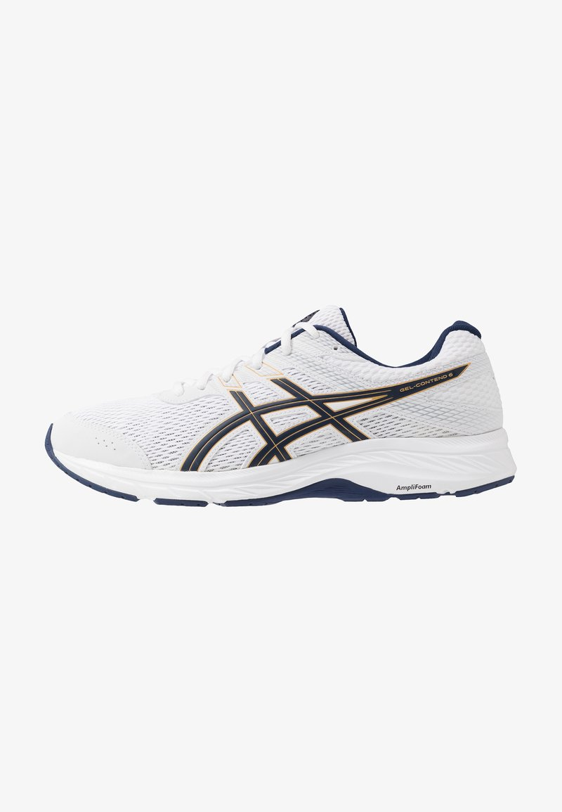 ASICS - GEL-CONTEND 6 - Neutral running shoes - white/peacoat