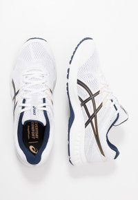 ASICS - GEL-CONTEND 6 - Neutral running shoes - white/peacoat - 1