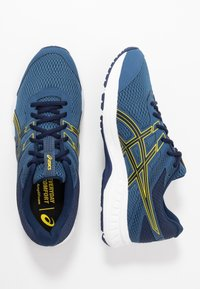 ASICS - GEL-CONTEND 6 - Obuwie do biegania treningowe - grand shark/vibrant yellow - 1