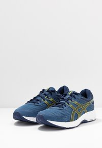 ASICS - GEL-CONTEND 6 - Obuwie do biegania treningowe - grand shark/vibrant yellow - 2