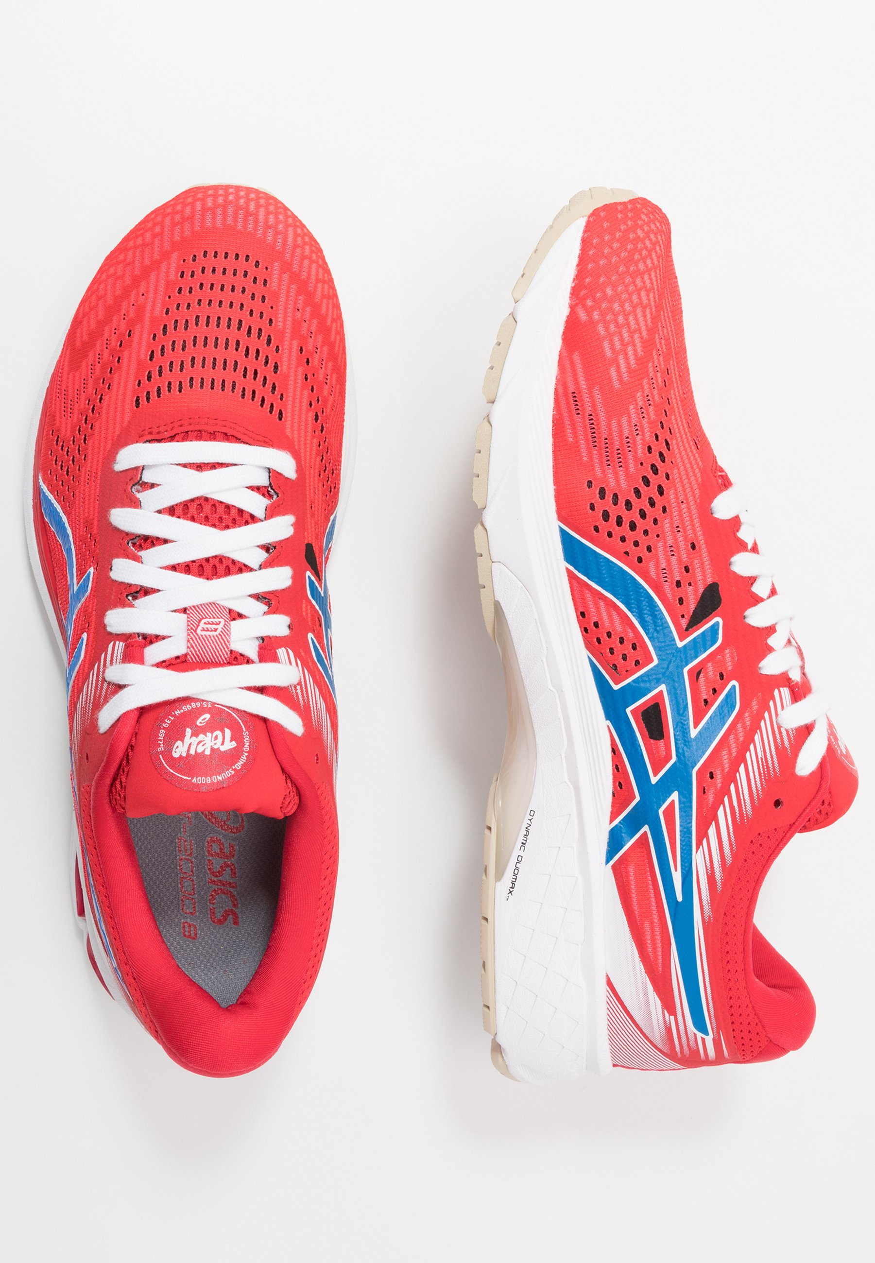 Asics Gt-2000 8 Retro Tokyo - Stabilty Running Shoes Classic Red/electric Blue