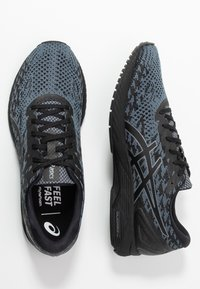 ASICS - GEL DS TRAINER 25 - Competition running shoes - black/metropolis - 1