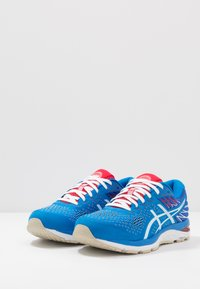 ASICS - GEL-CUMULUS 21 RETRO TOKYO - Zapatillas de running neutras - electric blue/white - 2