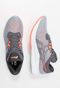 ASICS - EVORIDE - Neutral running shoes - sheet rock/flash coral - 1