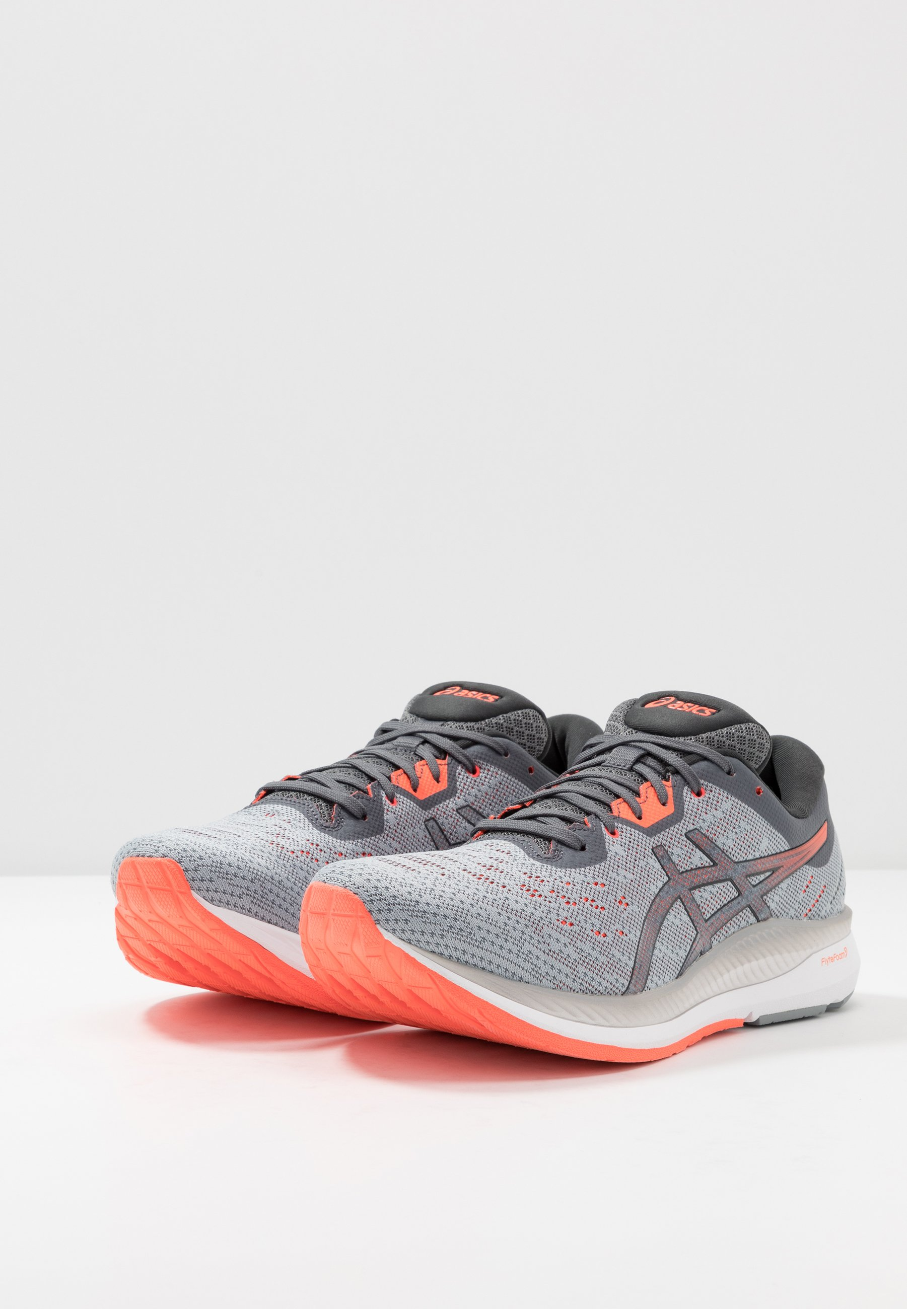 Asics Evoride - Chaussures De Running Neutres Sheet Rock/flash Coral