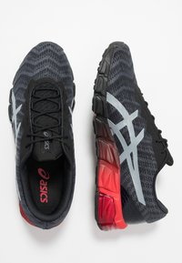ASICS - GEL-QUANTUM 180 5 - Juoksukenkä/neutraalit - black/sheet rock