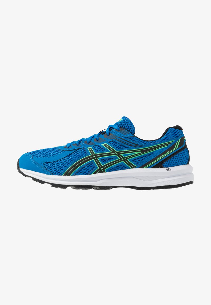 ASICS - GEL-BRAID - Neutral running shoes - electric blue/black