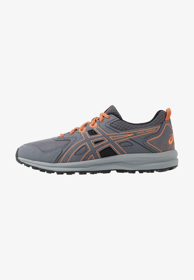 ASICS - TRAIL SCOUT - Trail running shoes - metropolis/shocking orange