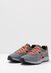 ASICS - TRAIL SCOUT - Trail running shoes - metropolis/shocking orange - 2