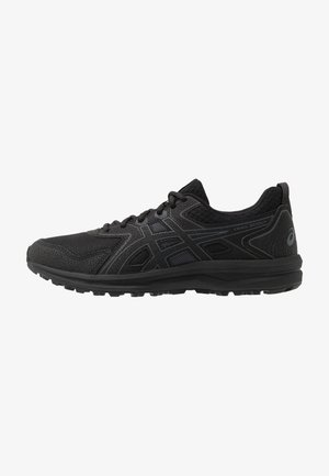 TRAIL SCOUT - Trail running shoes - black/carrier grey