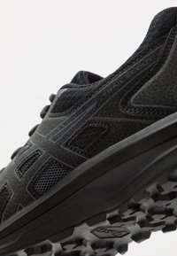 ASICS - SCOUT - Trail running shoes - black/carrier grey - 5