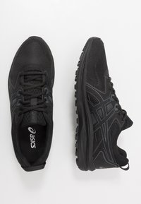ASICS - SCOUT - Trail running shoes - black/carrier grey - 1