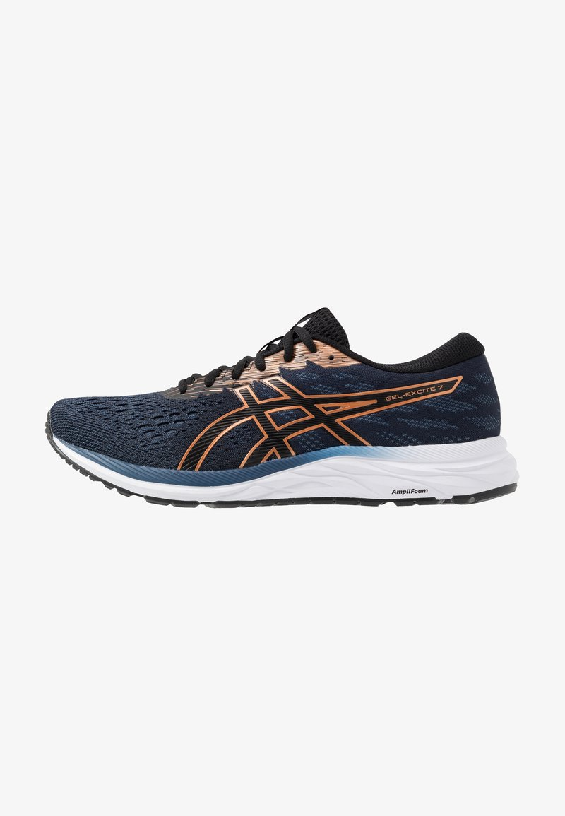 ASICS - GEL-EXCITE 7 - Neutral running shoes - black/pure bronze