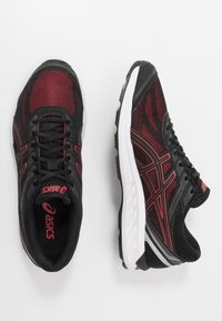 ASICS - GEL-SILEO - Neutral running shoes - black/graphite grey