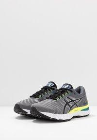 ASICS - GEL-NIMBUS 22 - Neutral running shoes - piedmont grey/black - 2