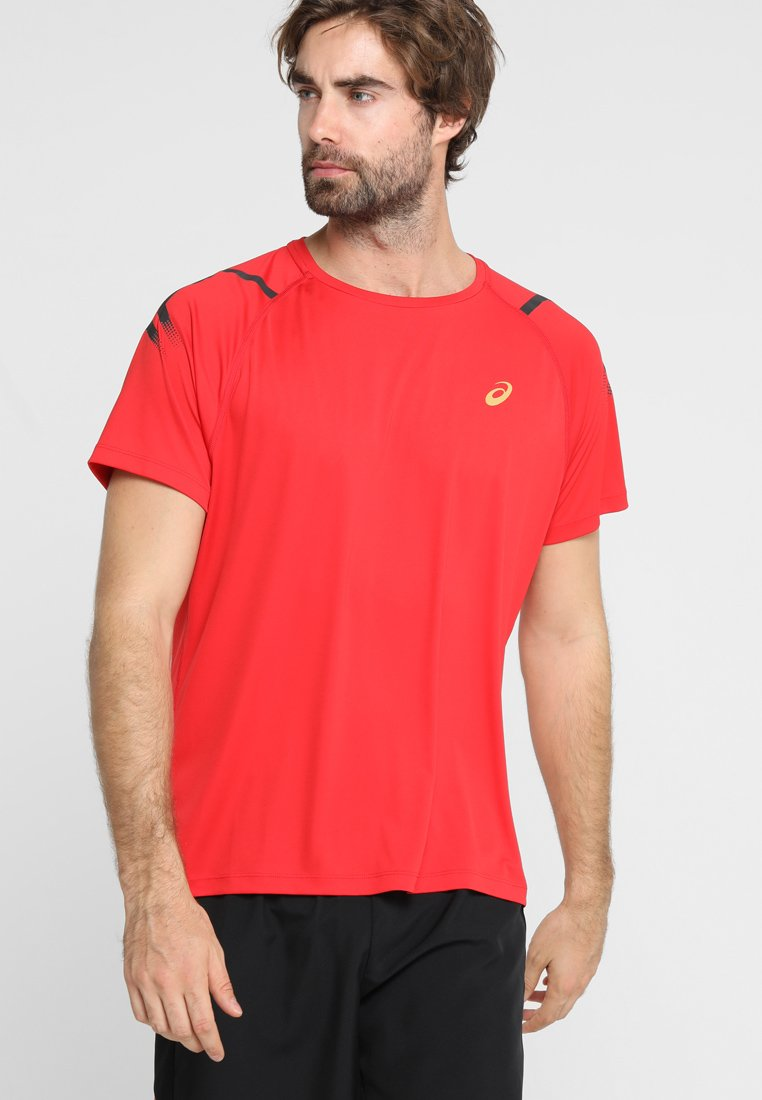 ASICS - ICON - T-shirt print - mp classic red