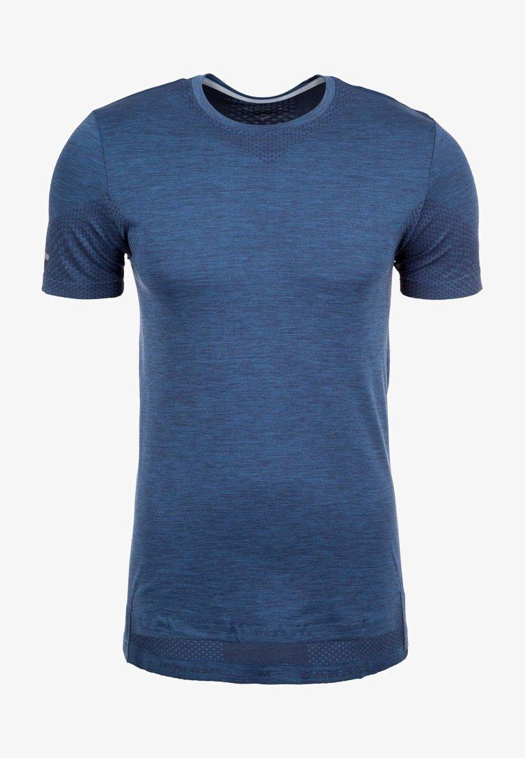 ASICS - FUZEX SEAMLESS HERREN - Basic T-shirt - blau