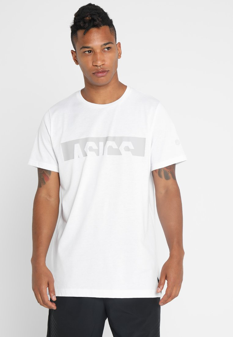 ASICS - GRAPHIC - T-shirt med print - brilliant white