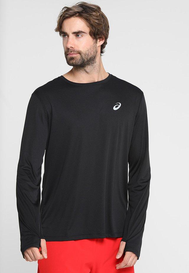 Camiseta de manga larga - performance black