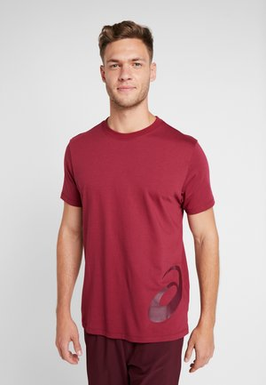 LOW BIG LOGO TEE - T-shirt med print - chili flake/deep mars