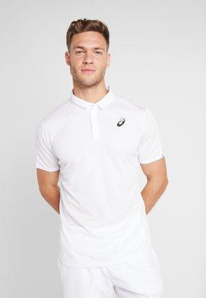 CLUB M - Polo - brilliant white