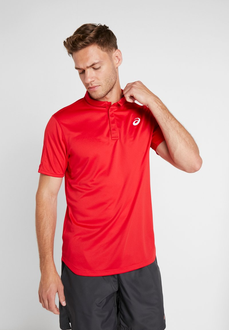 ASICS - CLUB M - Poloshirts - speed red