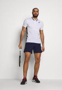 ASICS - CLUB POLO - Sports shirt - brilliant white - 1