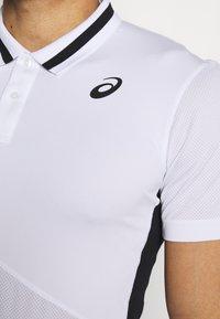 ASICS - CLUB POLO - Sports shirt - brilliant white - 4