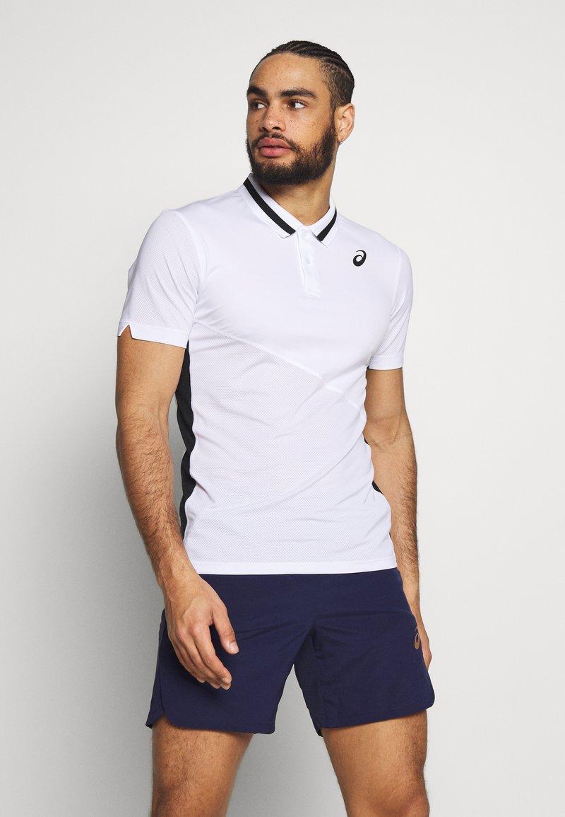 ASICS - CLUB POLO - Sports shirt - brilliant white