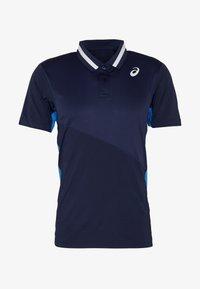 ASICS - CLUB POLO - Sports shirt - peacoat - 3
