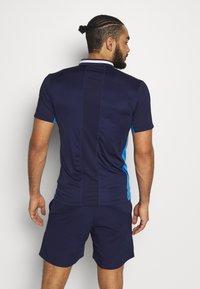 ASICS - CLUB POLO - Sports shirt - peacoat - 2