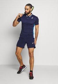 ASICS - CLUB POLO - Sports shirt - peacoat - 1