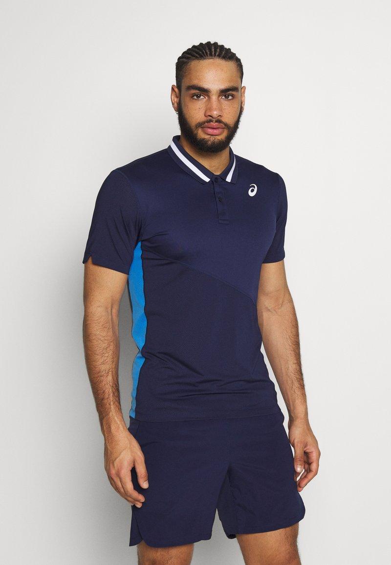 ASICS - CLUB POLO - Sports shirt - peacoat