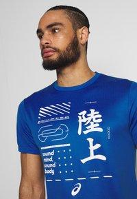 ASICS - KANJI - Print T-shirt - blue - 3