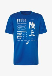ASICS - KANJI - Print T-shirt - blue - 4