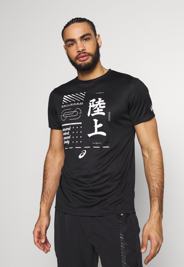 KANJI - Camiseta estampada - black