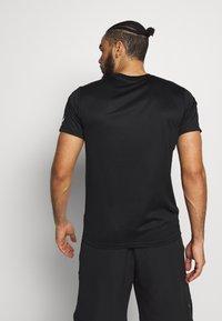 ASICS - KANJI - Print T-shirt - black - 2