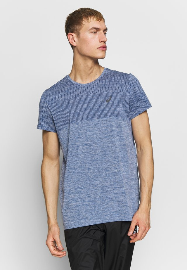 RACE SEAMLESS - Camiseta estampada - grand shark