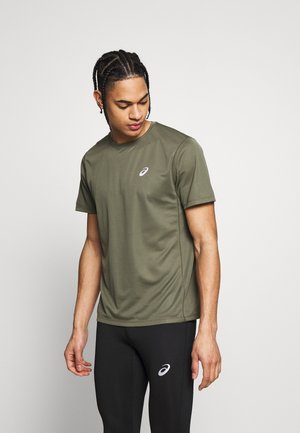 KATAKANA  - Print T-shirt - mantle green