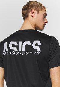 ASICS - KATAKANA  - Print T-shirt - performance black - 3